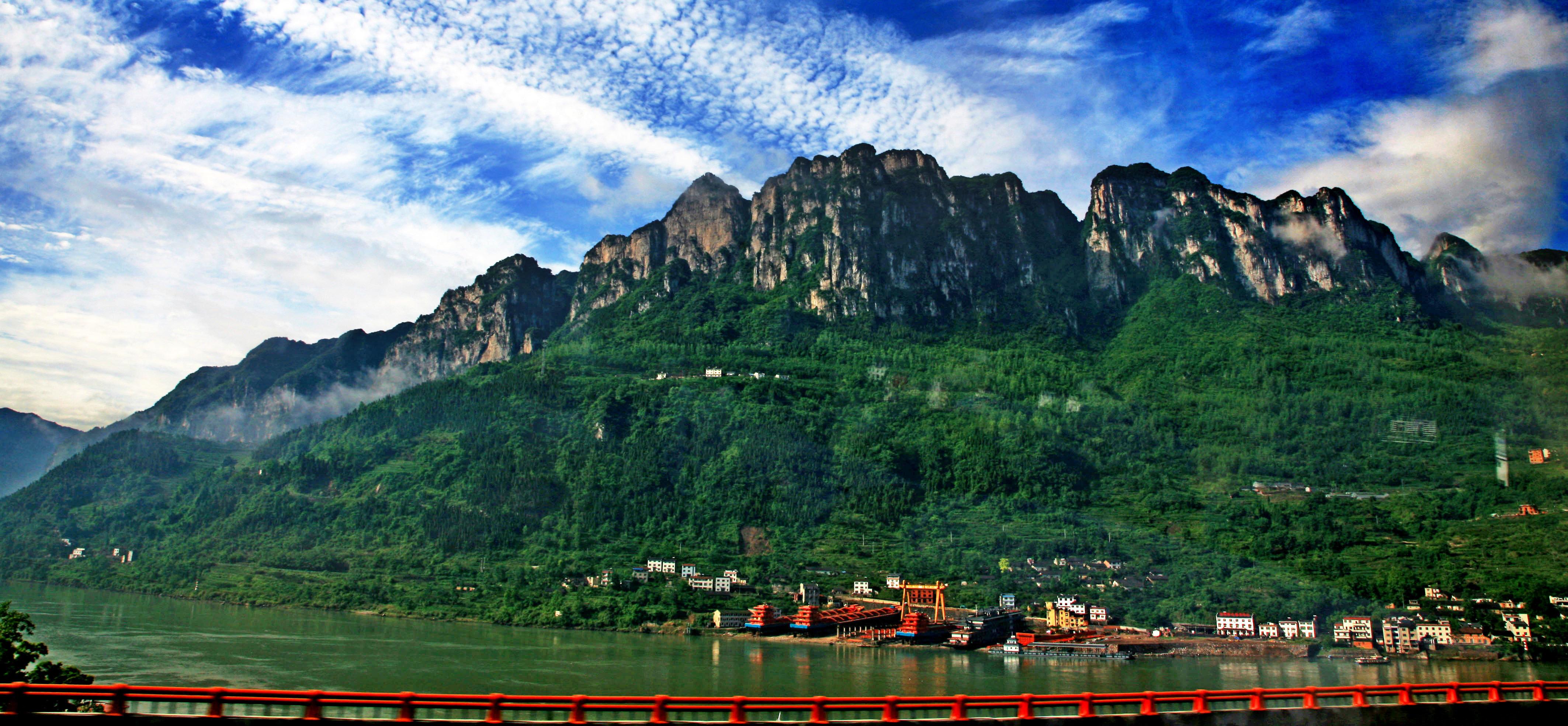资讯: 巫山云阳重庆丰都长江三峡