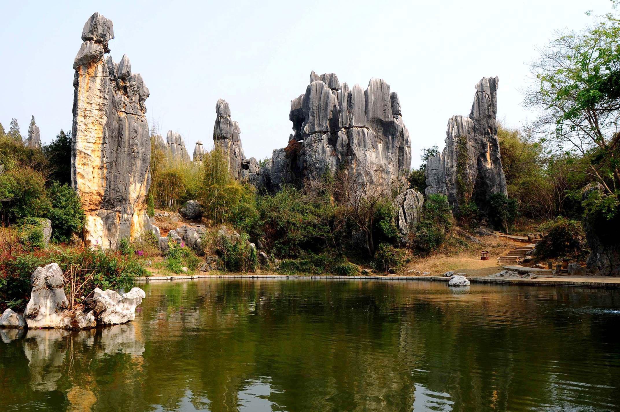 昆明+石林+大理+丽江+西双版纳+野象谷+原始森林公园