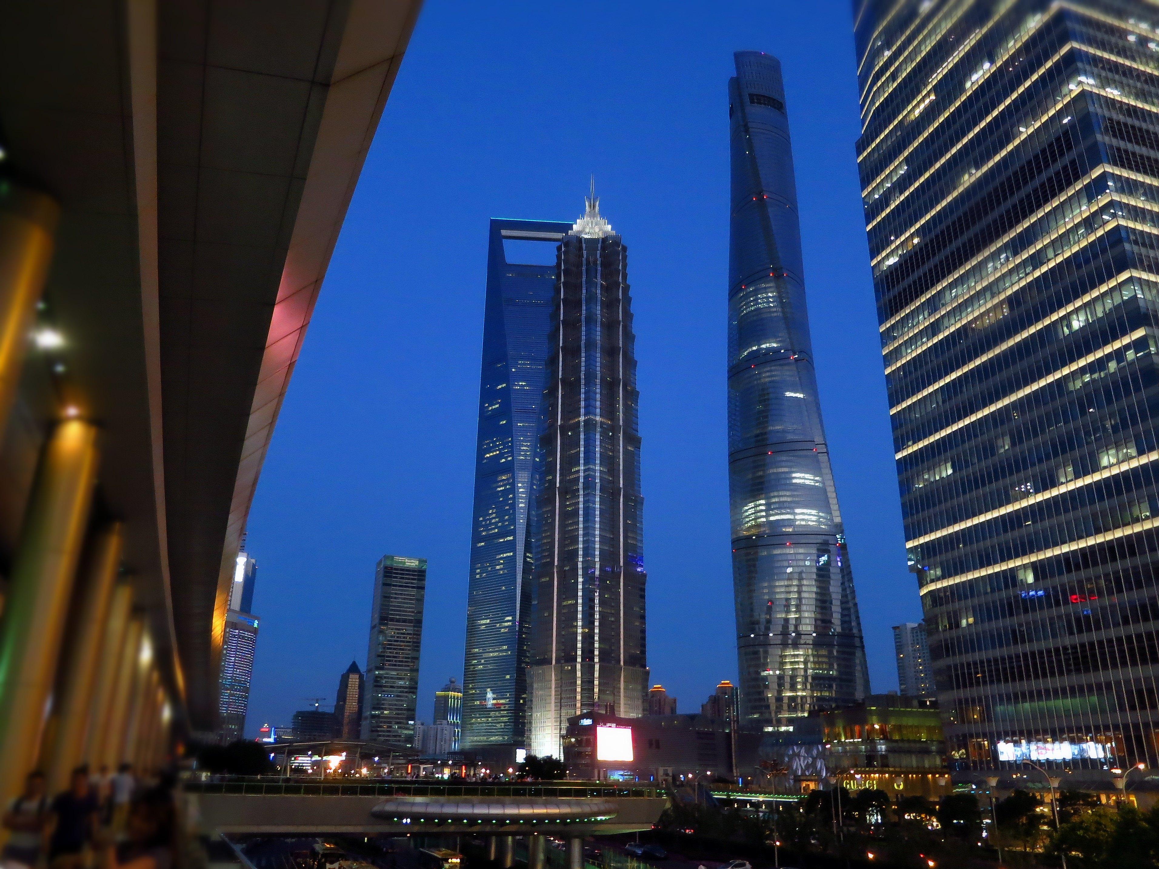【携程攻略】上海陆家嘴中心绿地适合单独旅行旅游吗