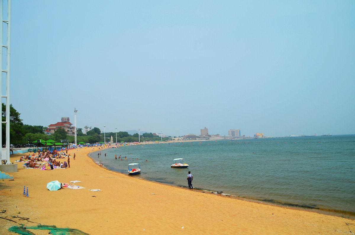 龙湾海滨和兴城海滨沙滩和海水有何优略?给个建议谢谢.