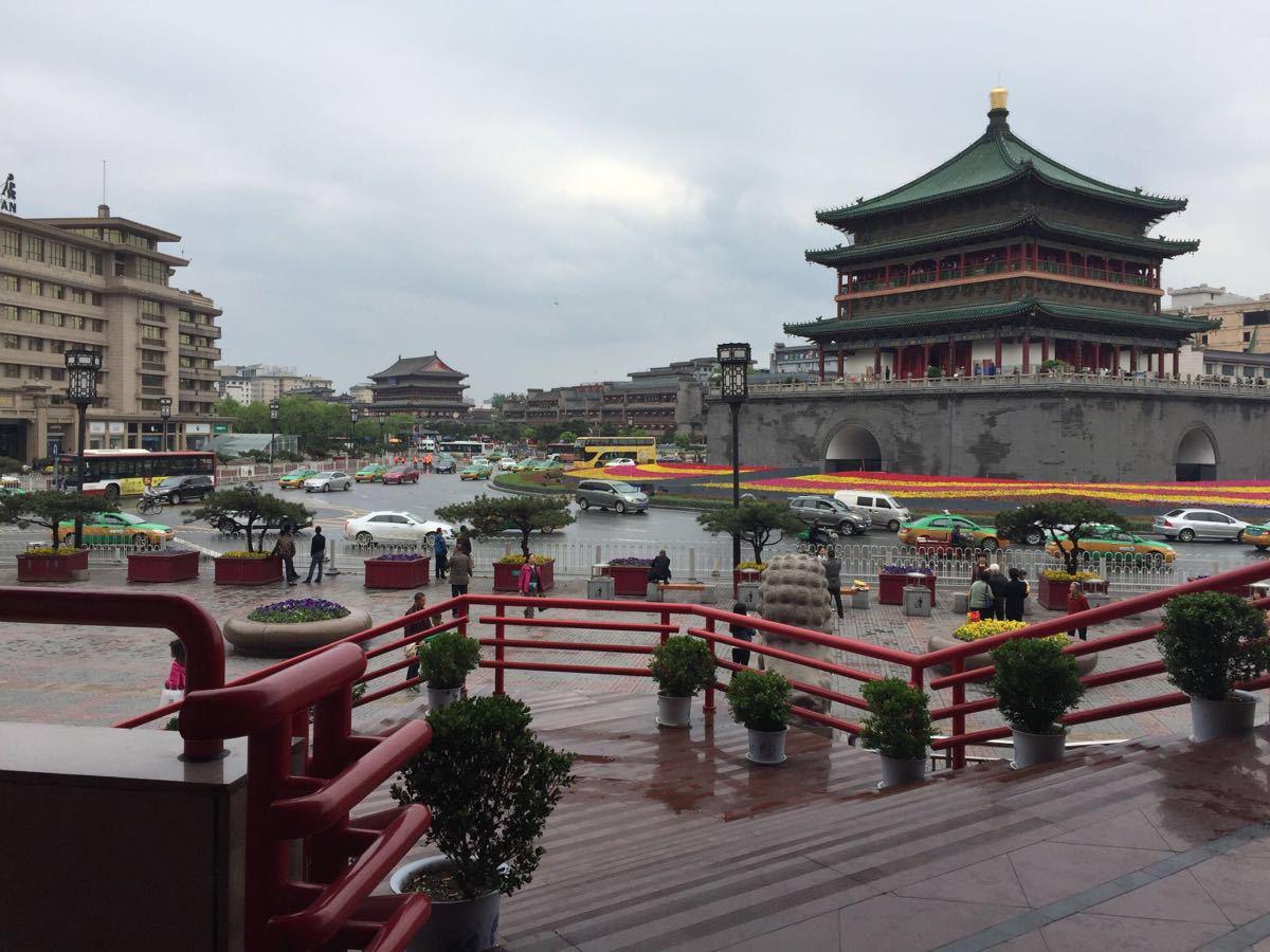 携程攻略】陕西西安钟楼景点,西安市中心地标建筑-西安钟楼 旅游