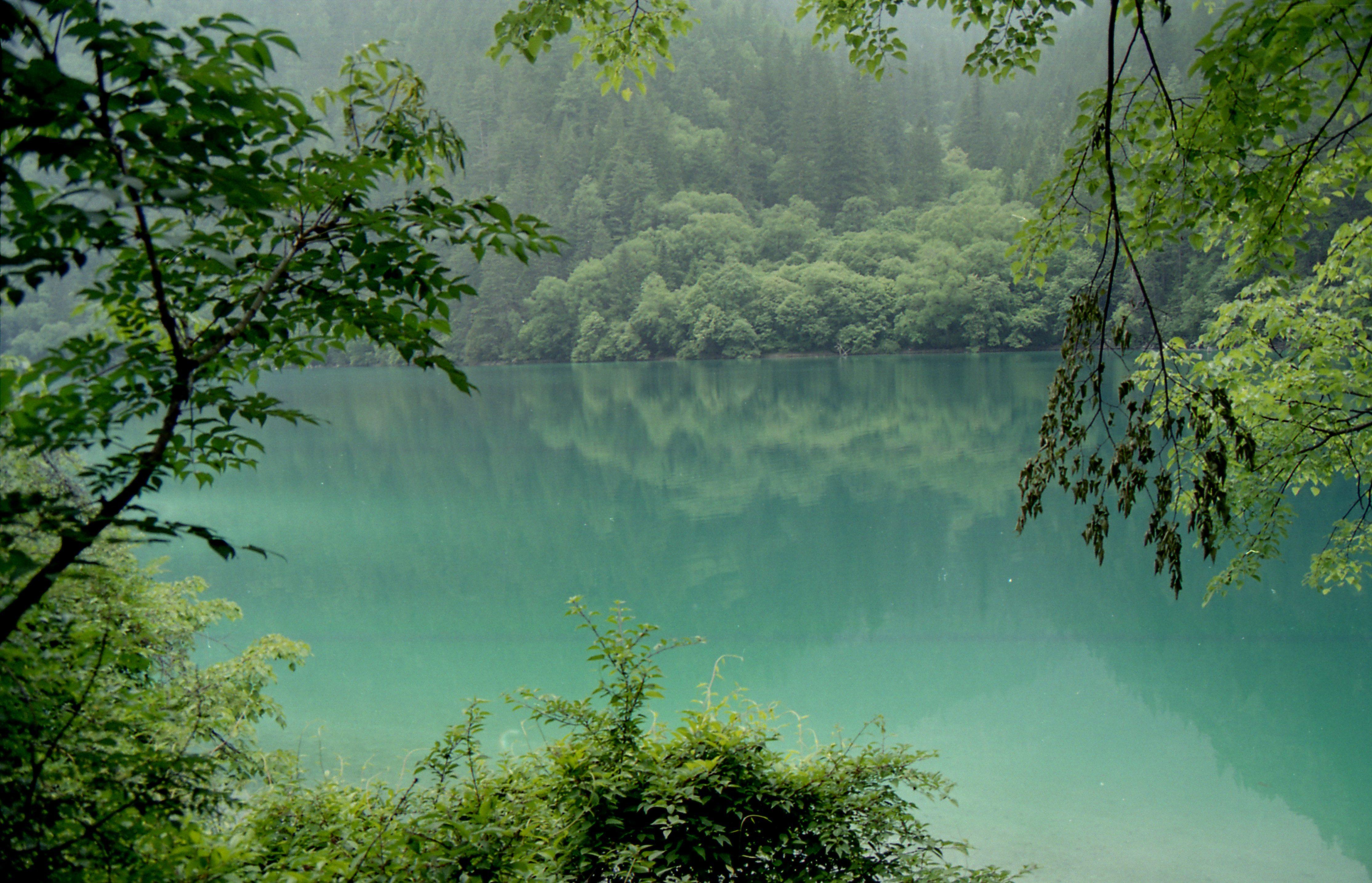 世上最美山水风景图片-壁纸九寨沟