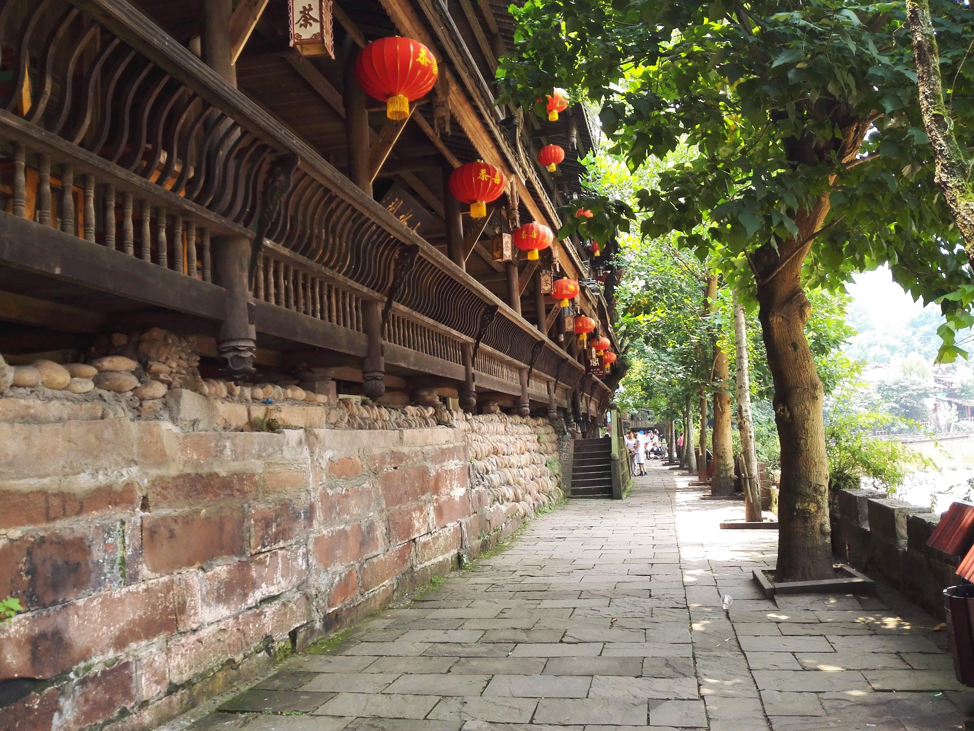 【携程攻略】四川眉山洪雅柳江古镇好玩吗图片