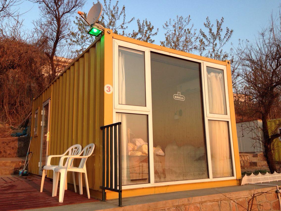 集装箱式酒店很不错,很有创意,就在鸽子窝公园内,一出门就是海滩了图片