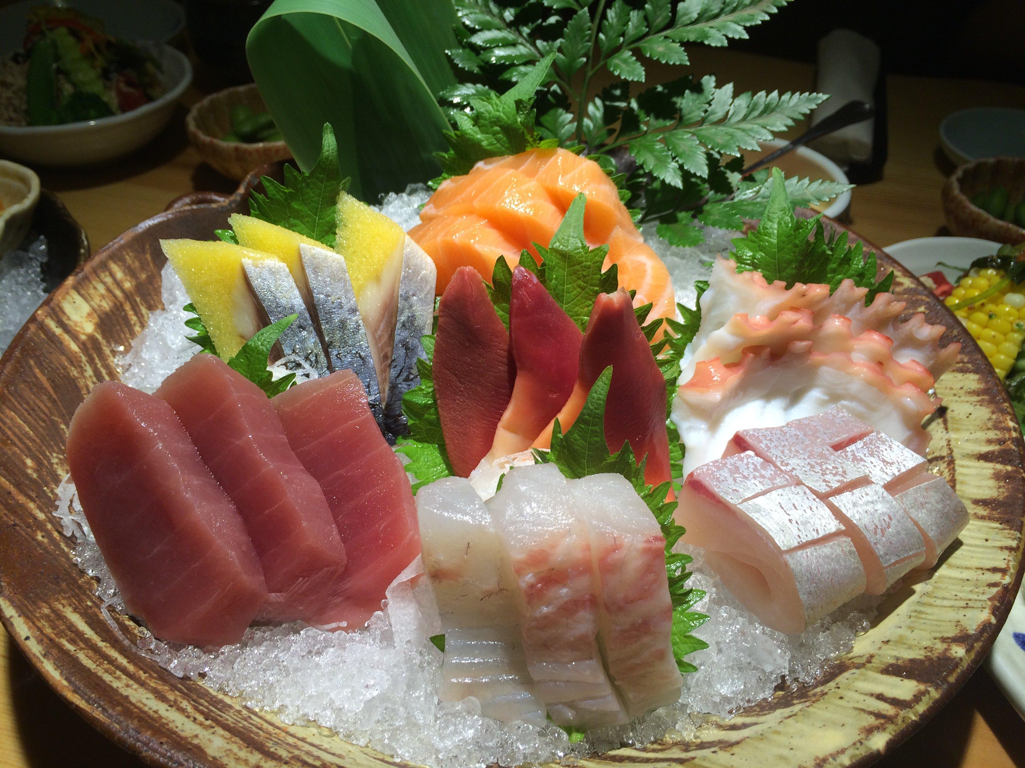 日本料理背景图