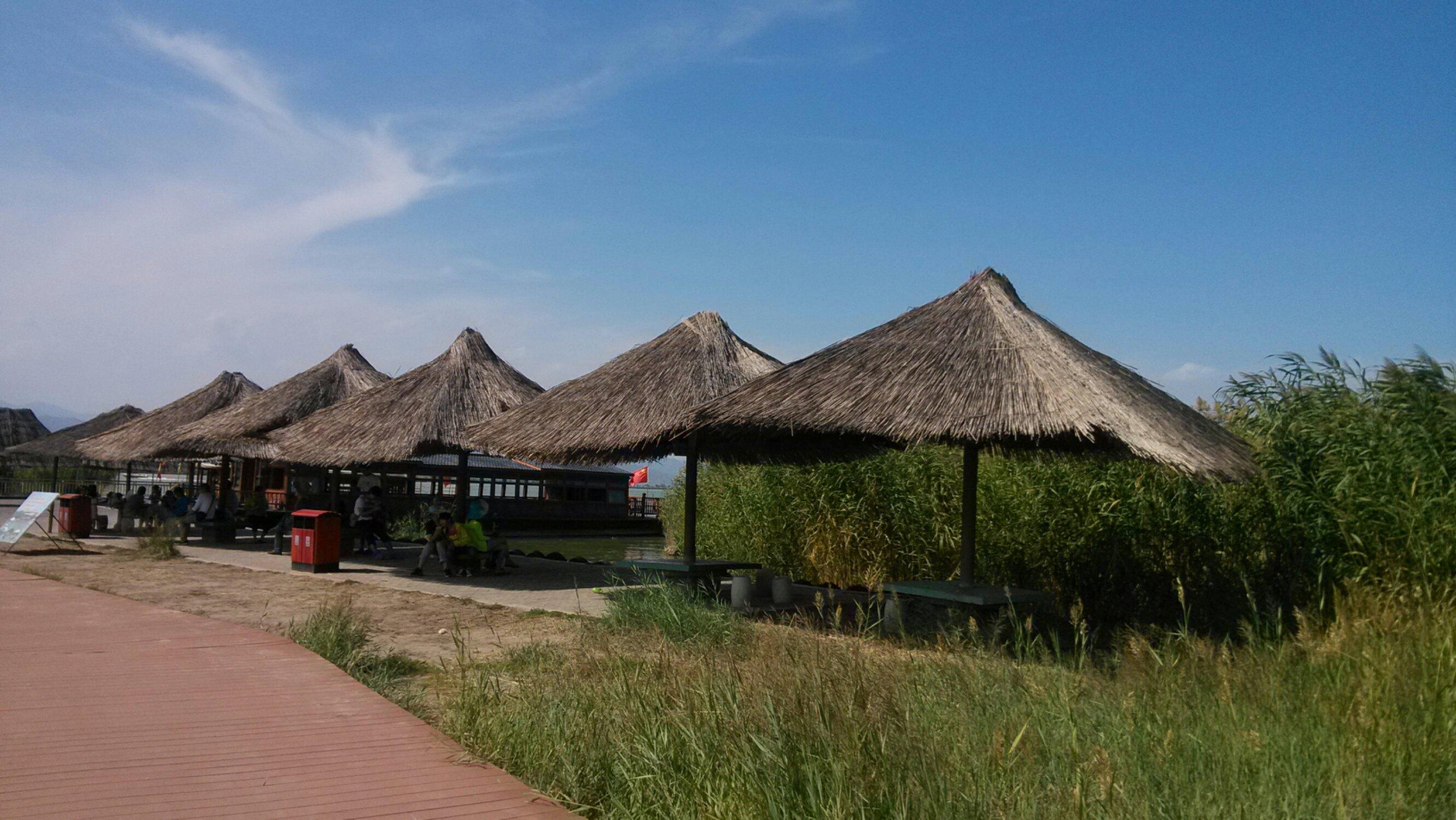 亦庄鸣银川湿地别墅公园棠国家翠湖颂图片