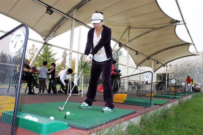 高尔夫俱乐部景点