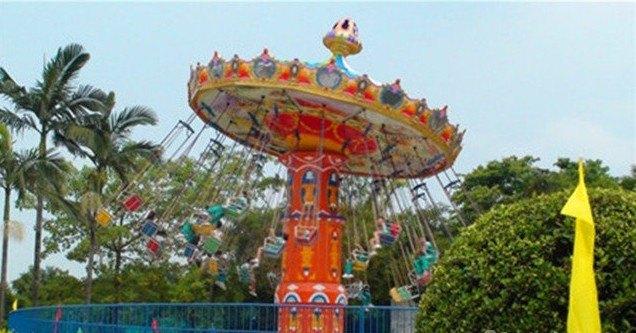 南湖游乐园图片