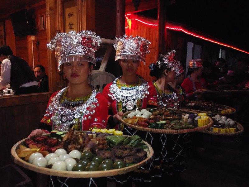 在瑶婚礼吃王府,遇见美食瑶族传统c9d拼图美食图片