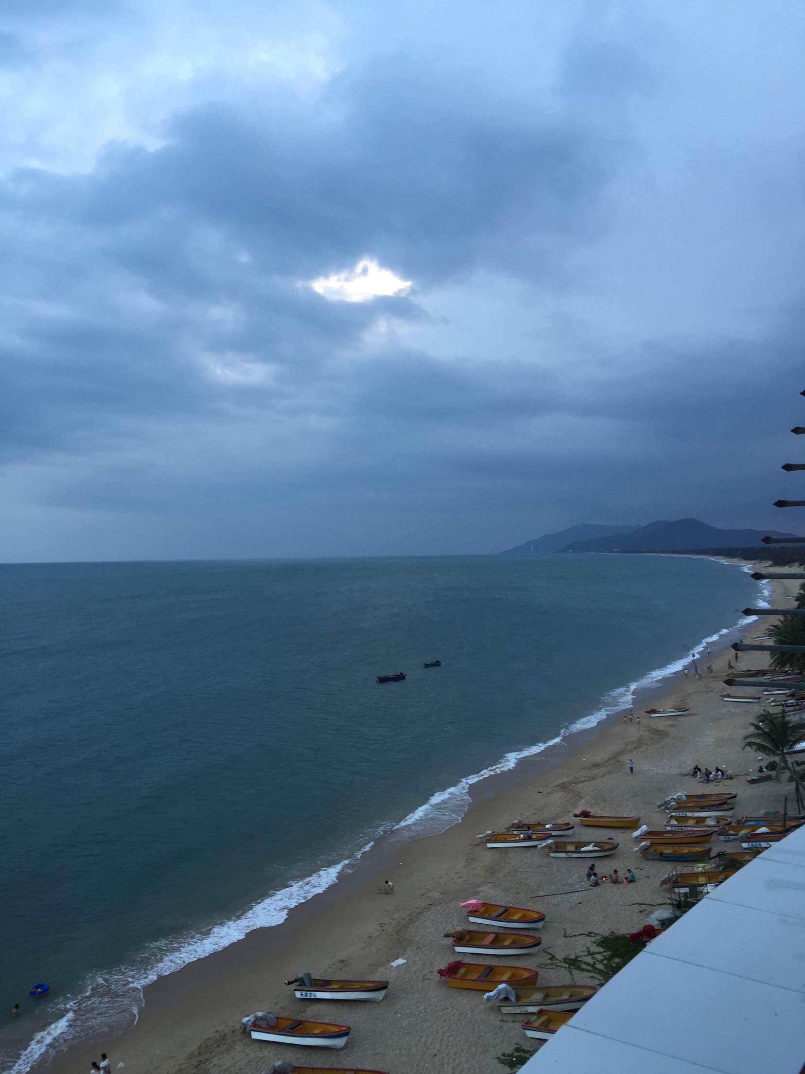 三亚海滩手机壁纸