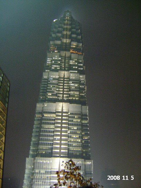 上海,在陆家嘴的行程永远都是以东方明珠-金茂大厦