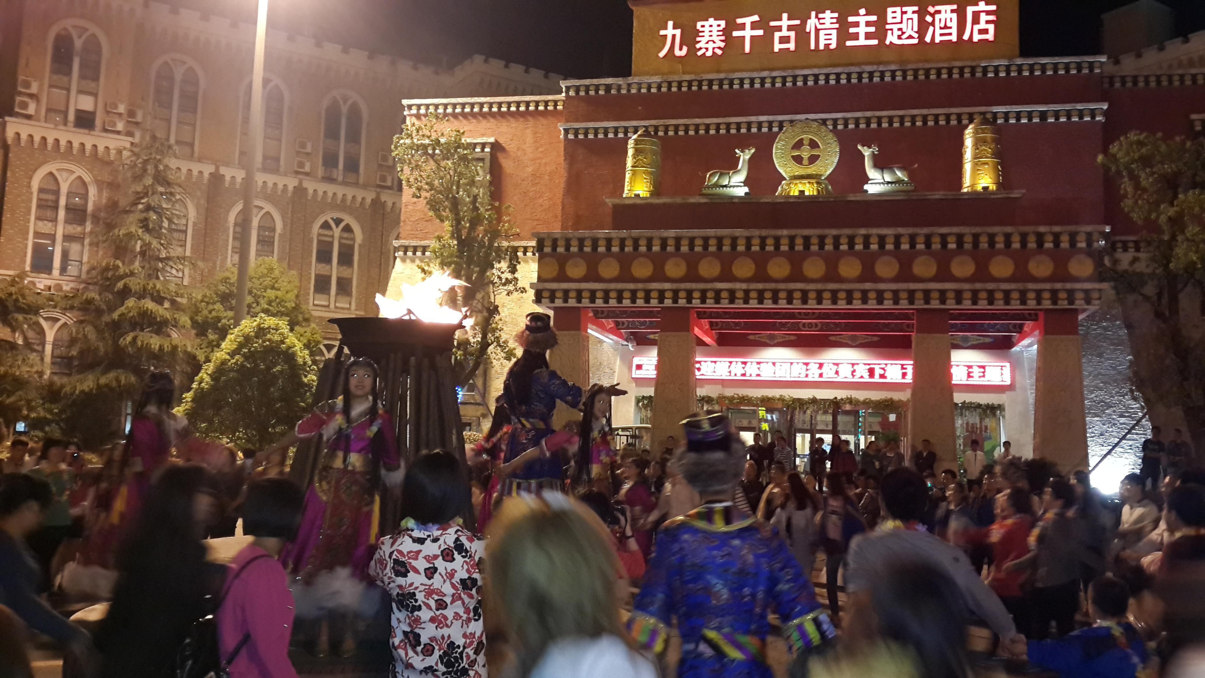 宋城景区离酒店很近,走路两三分钟图片