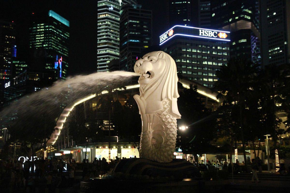 【携程攻略】新加坡鱼尾狮像公园适合家庭亲子旅游吗