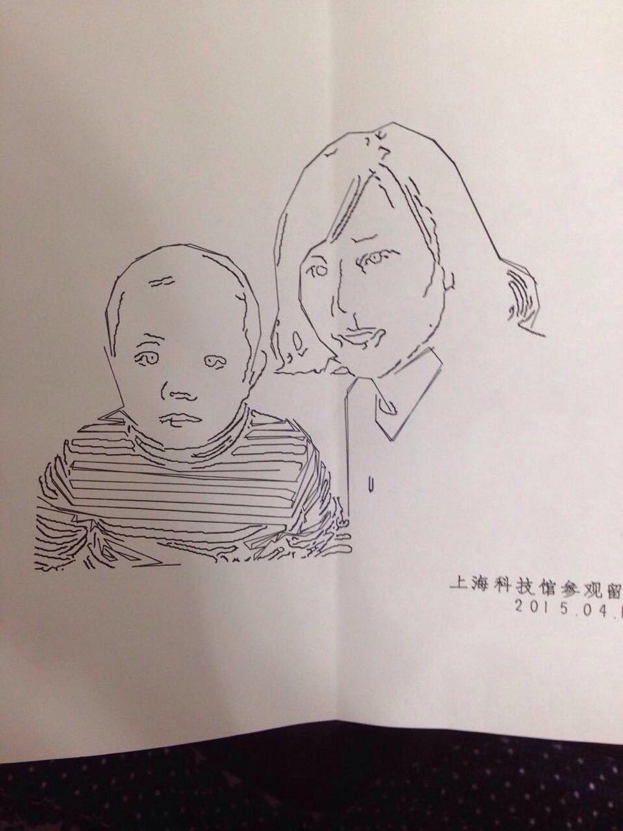 手绘上海博物馆