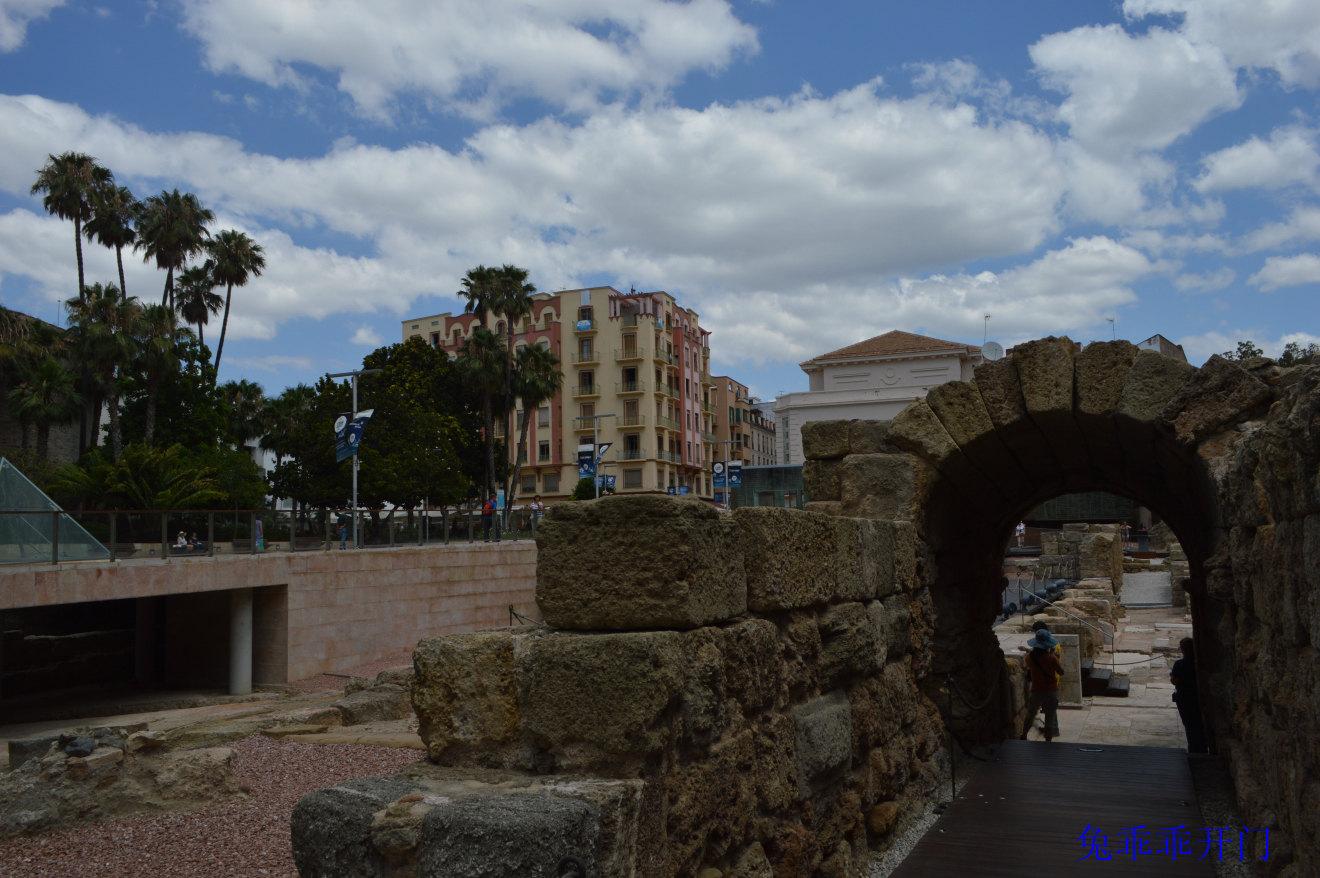 古罗马露天剧场