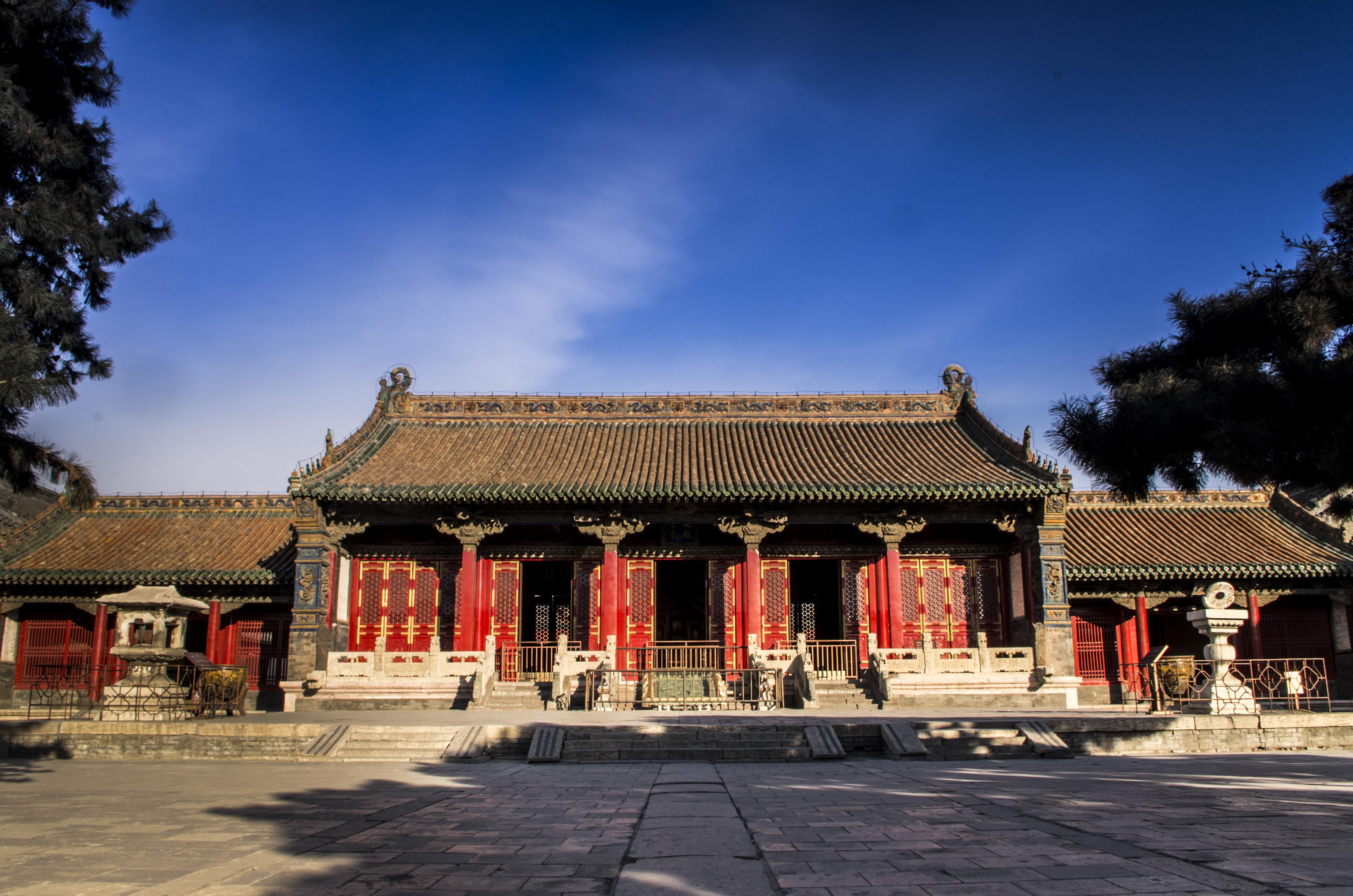 沈阳故宫运用龙的装饰也非常抢眼高清图片
