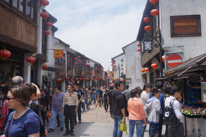 苏州山塘街的遇见#自驾游体验师