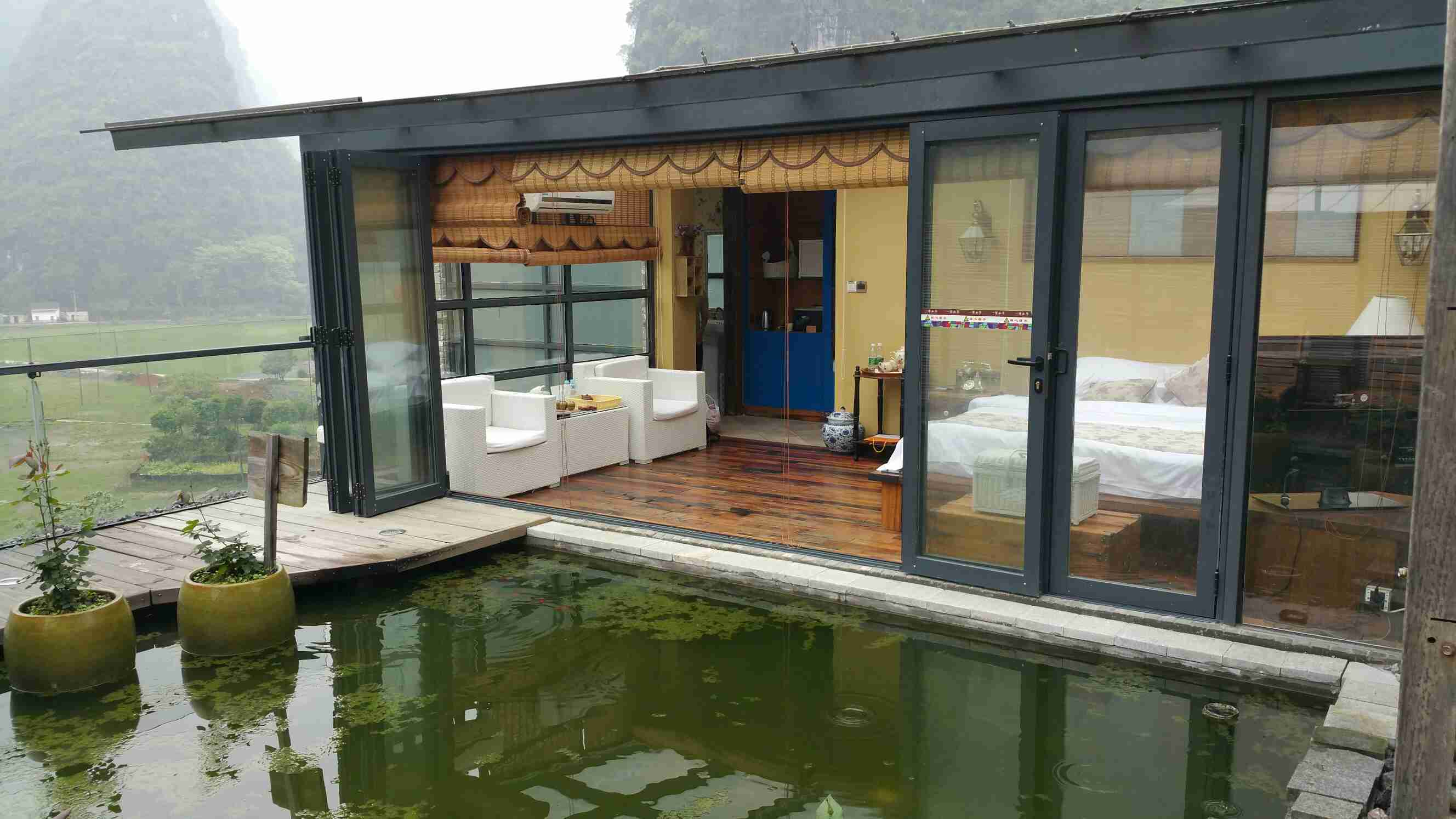 顶楼鱼池设计图