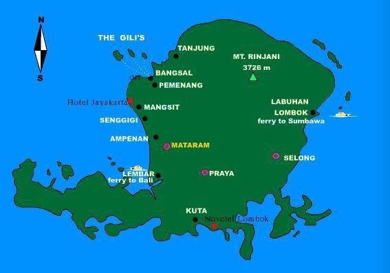 龙目岛机场到巴厘岛的航班很便宜,我当天到机场买机票还可以买到100