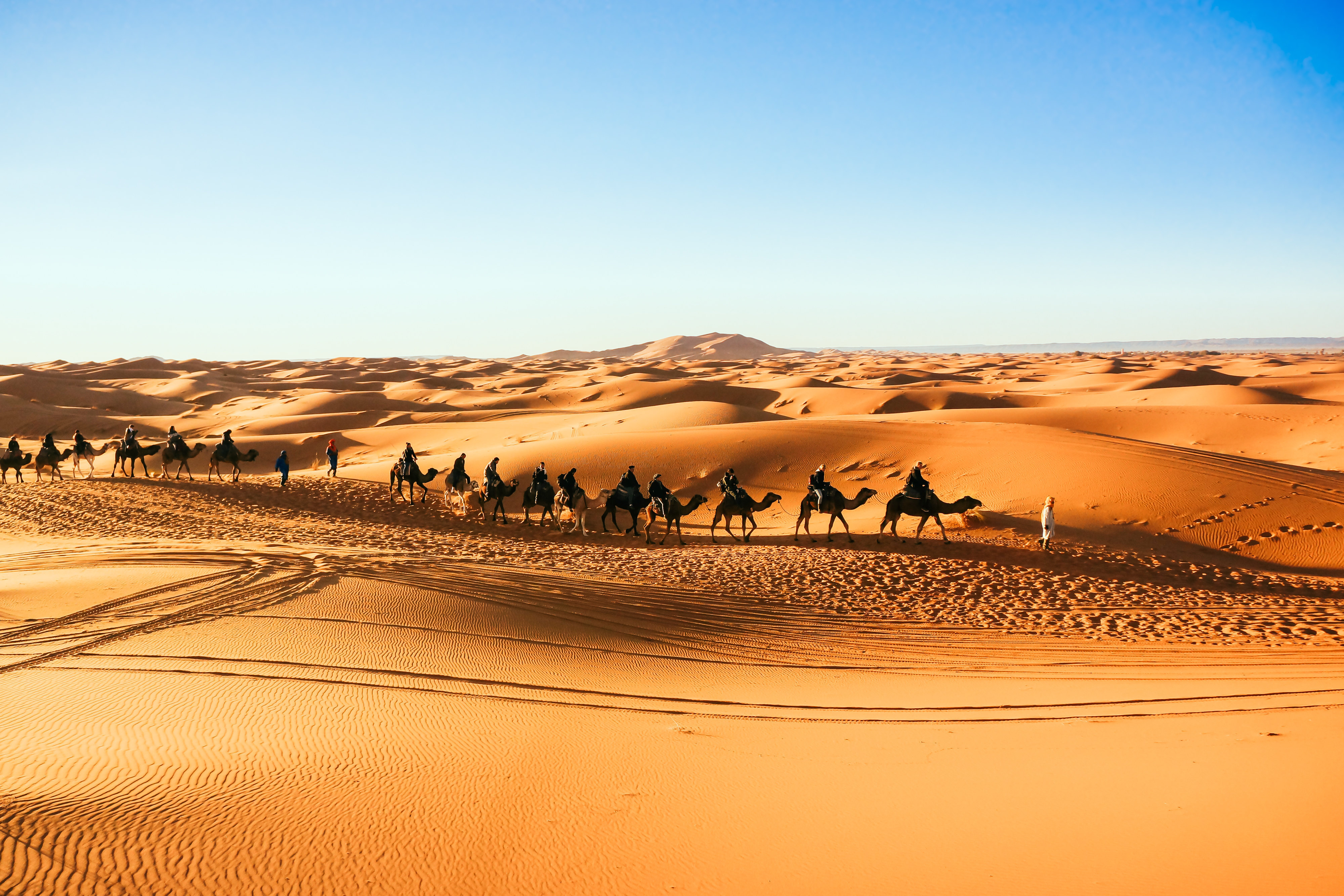非洲沙漠建筑素材