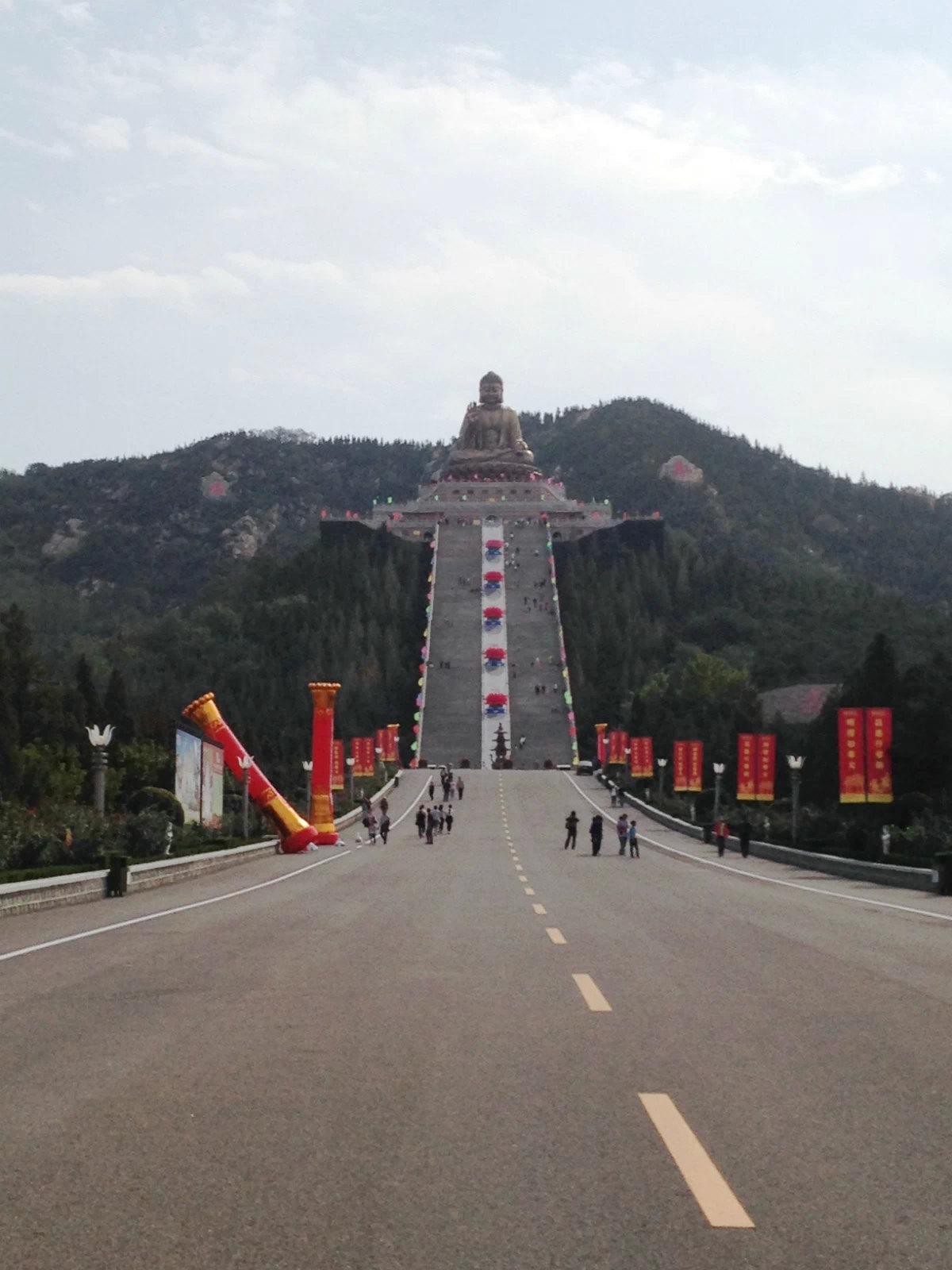 龙口南山风景区高清图片
