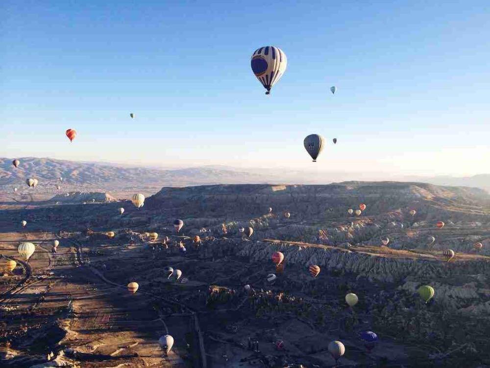 世界上坐热气球最美的地方