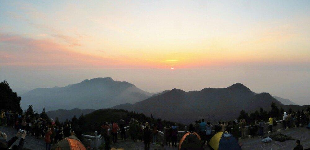 第1天 2015-03-22 衡山风景名胜区 南岳衡山,并非第一次来玩.