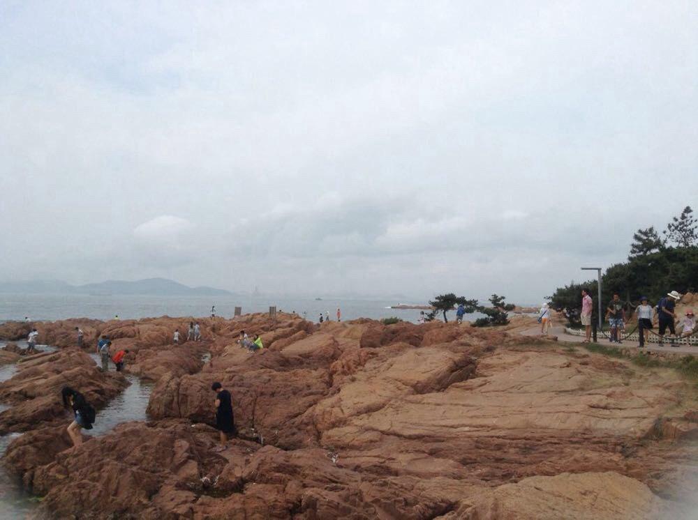 青岛市海边的
