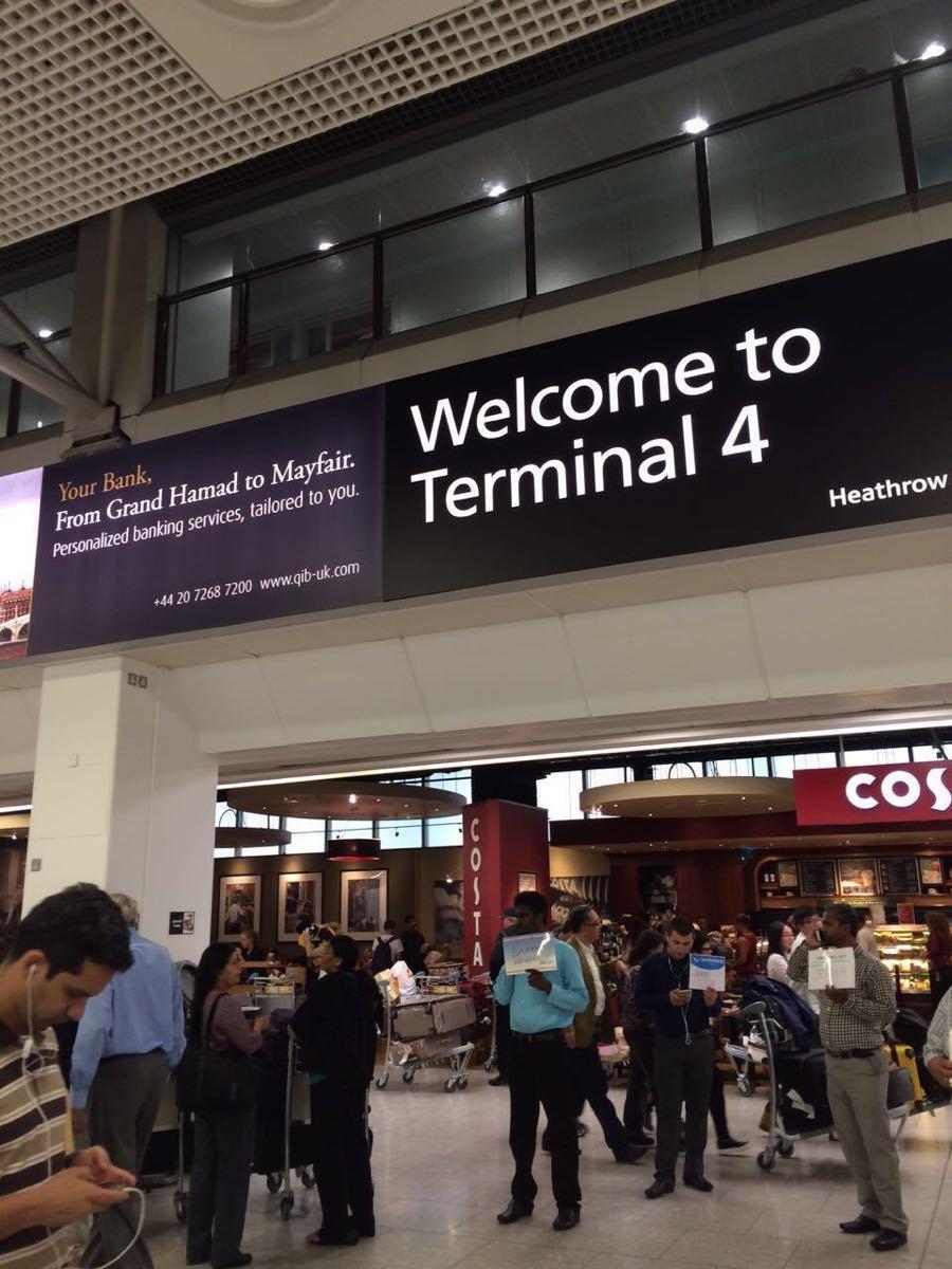 【携程攻略】伦敦希思罗国际机场