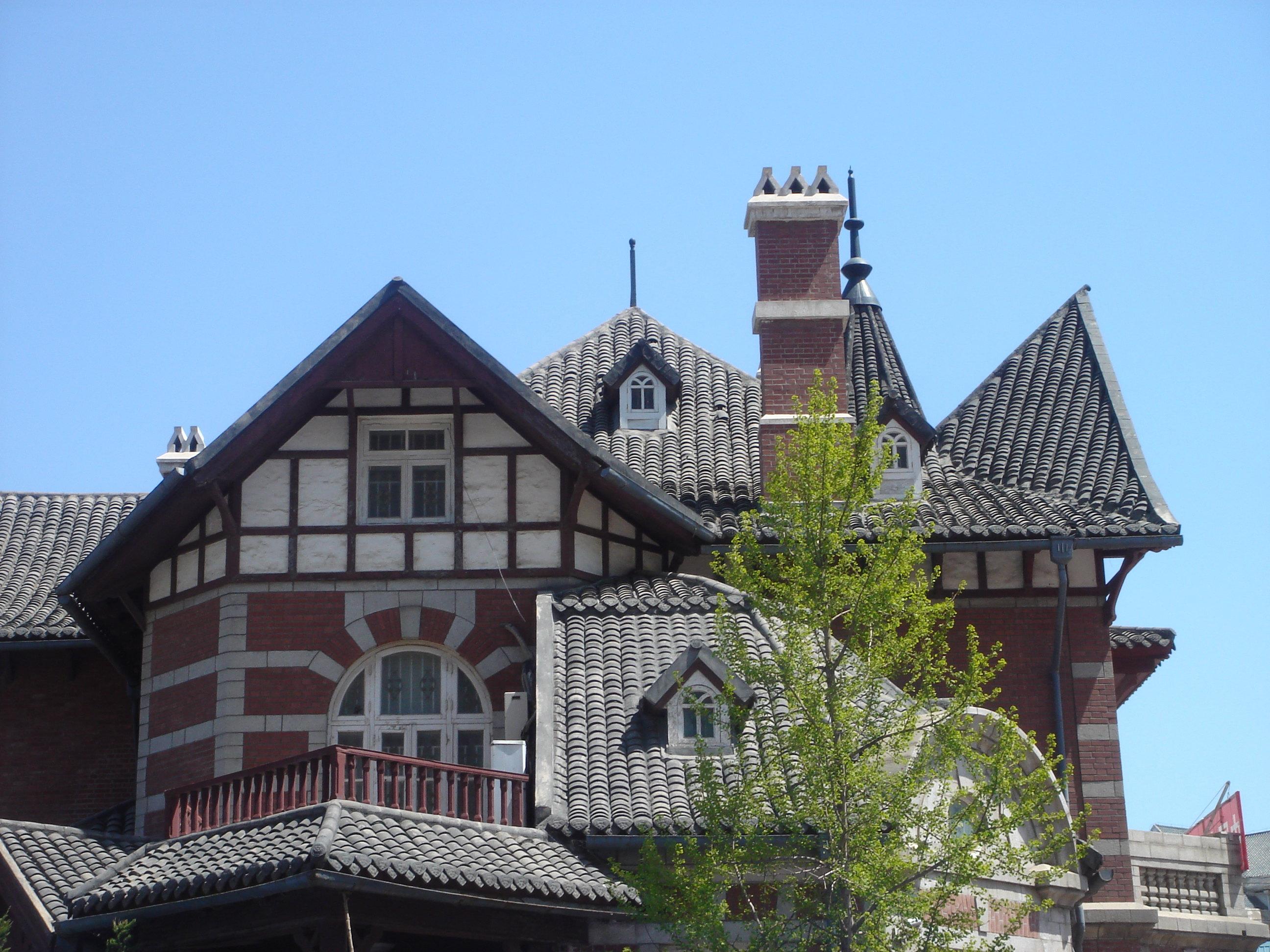 欧式建筑组成