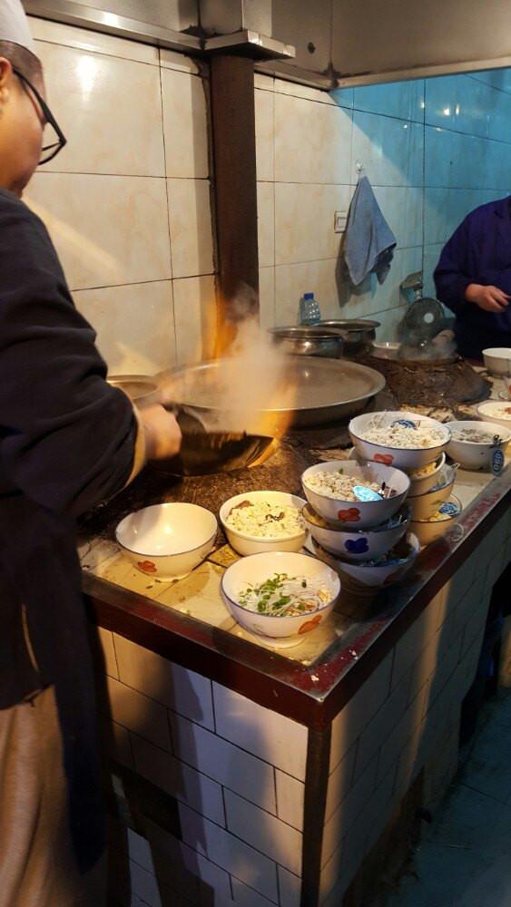 古色古香西安城,回民美食美味街ccpark无美食一杯餐厅图片