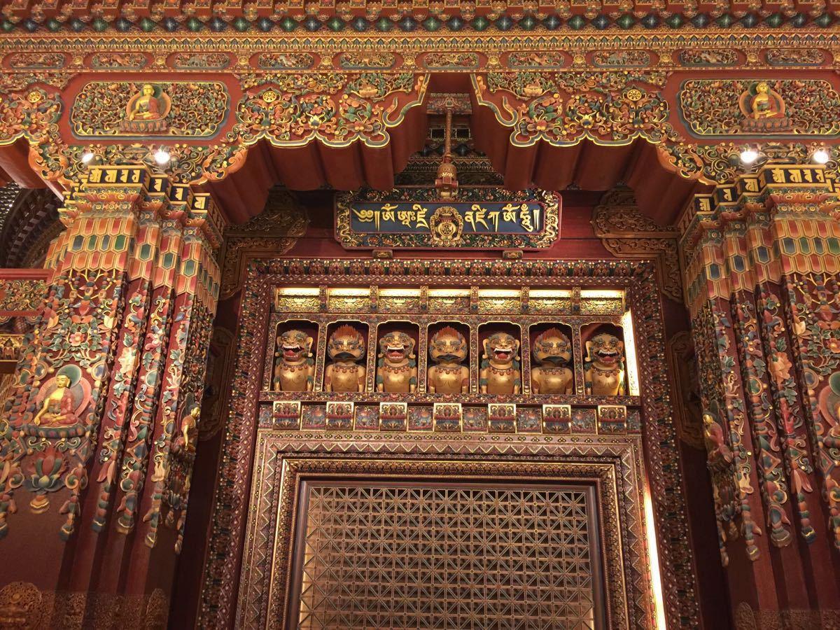 灵山梵宫木雕达摩