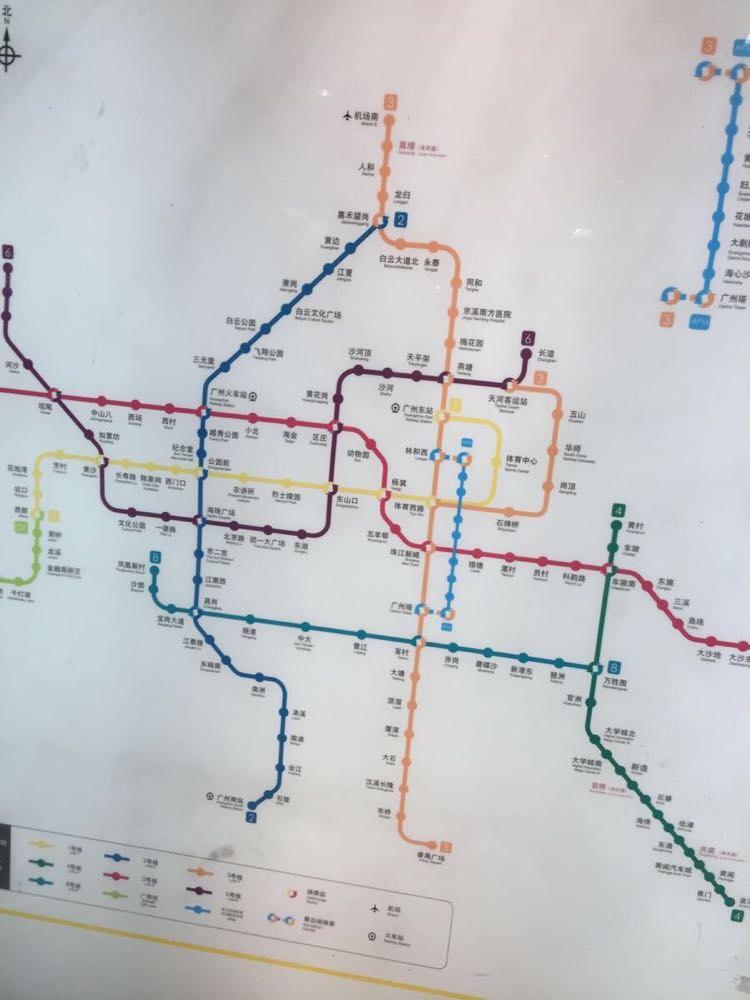 请问广州地铁最新的全线路地铁 时刻表 和全地铁 线路图 数据,图片