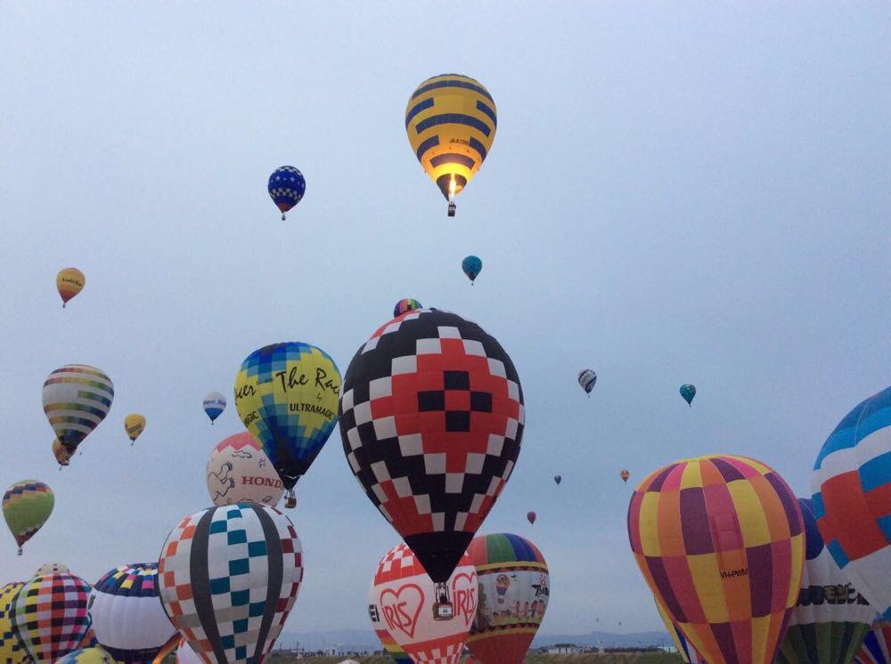 日本手绘小清新气球