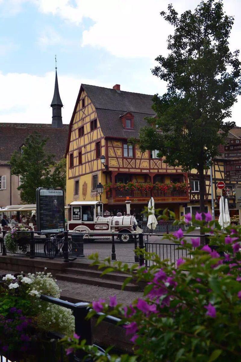 """""""混血""""小镇——科尔马,充满德国风情的法国小镇"""