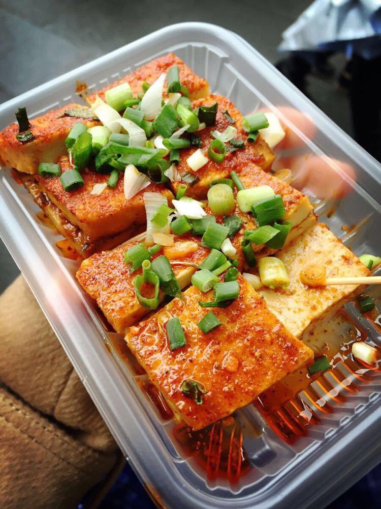 锦里小吃鱼豆腐图片