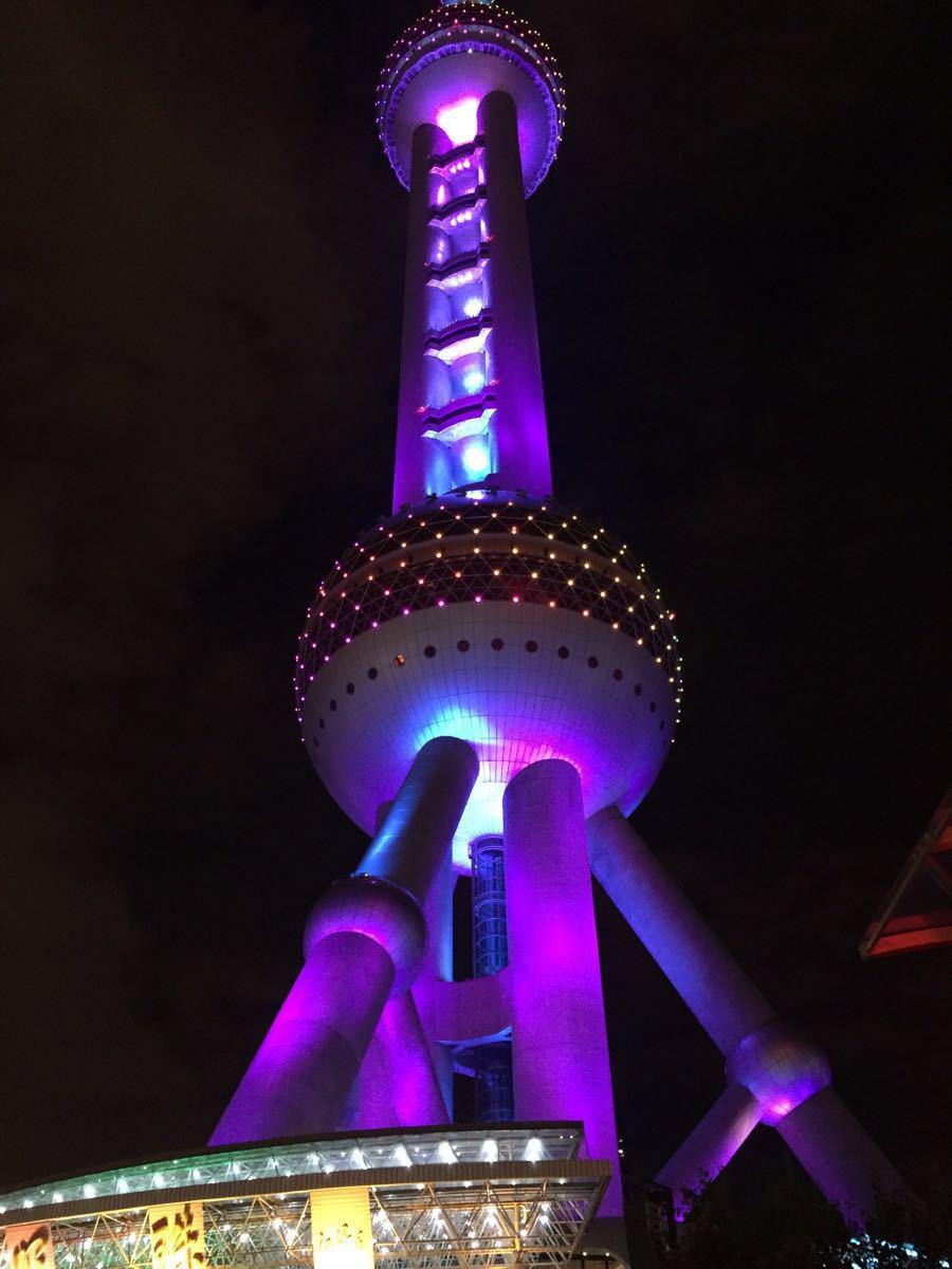 上海东方明珠塔矢量图