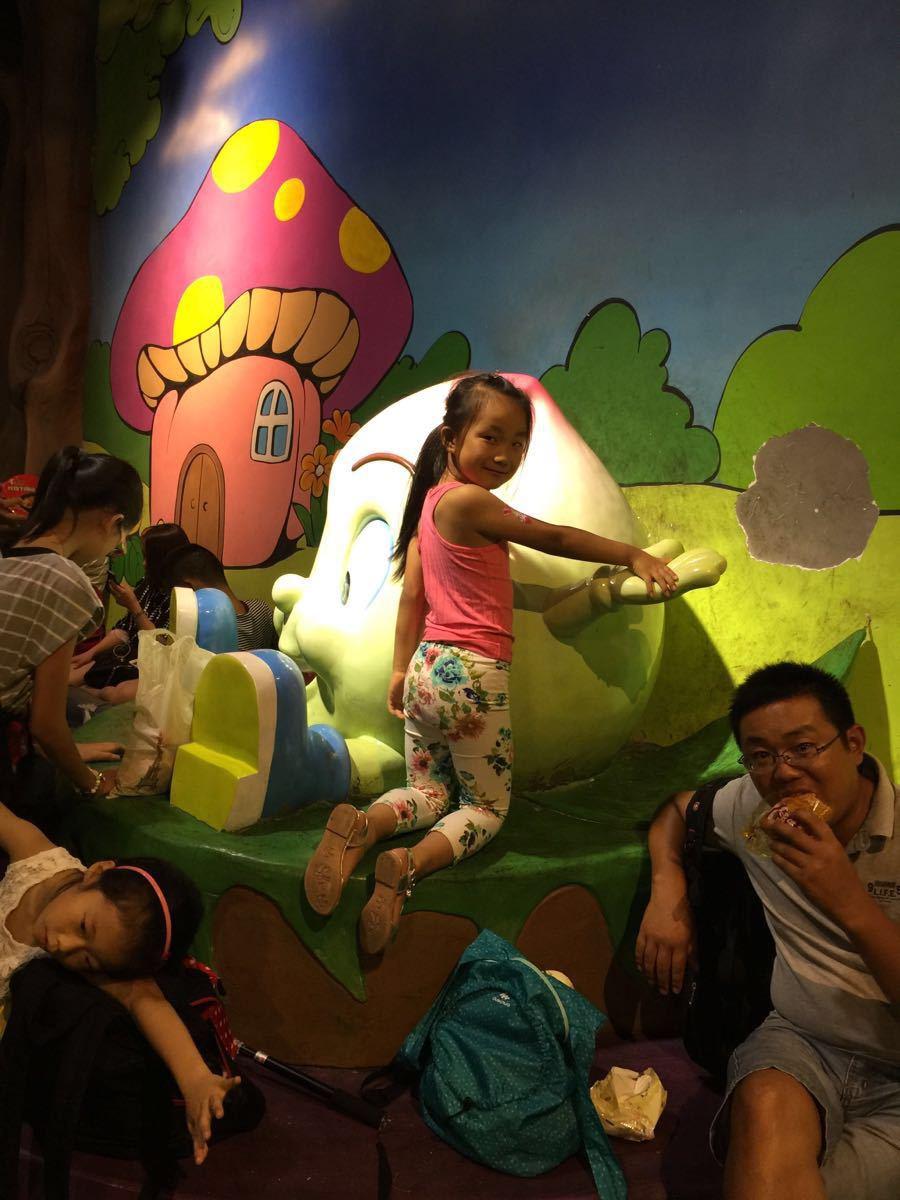 【携程攻略】浙江杭州宋城烂苹果乐园适合家庭亲子吗