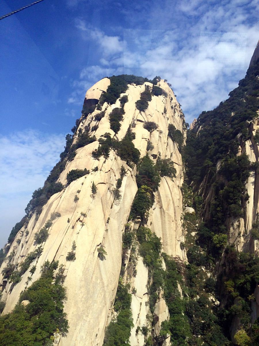 去华山,西峰是必须去的景点,真的很美,360度无死角图片