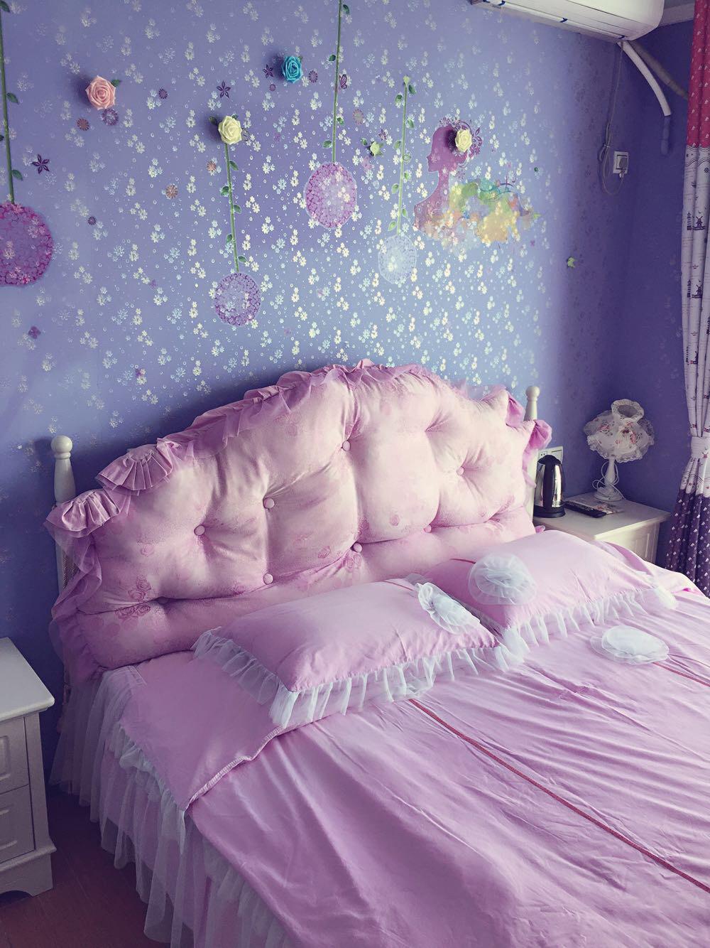 晚上家庭卧室真实照片