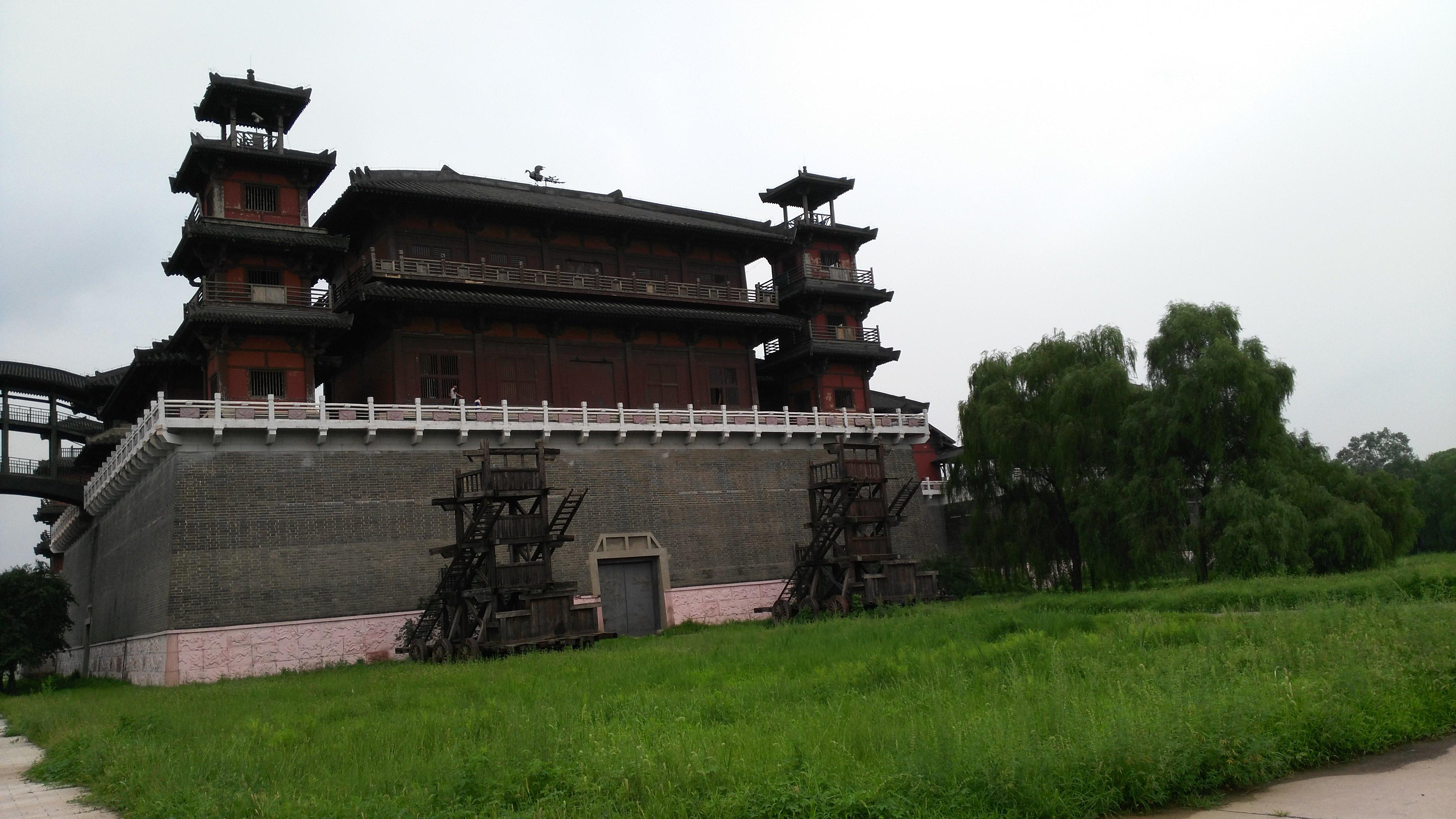 【携程攻略】河北涿州影视城适合朋友出游旅游吗
