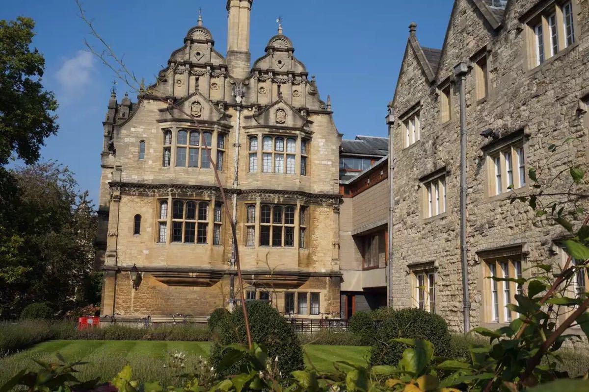 牛津大学教学楼设计图展示