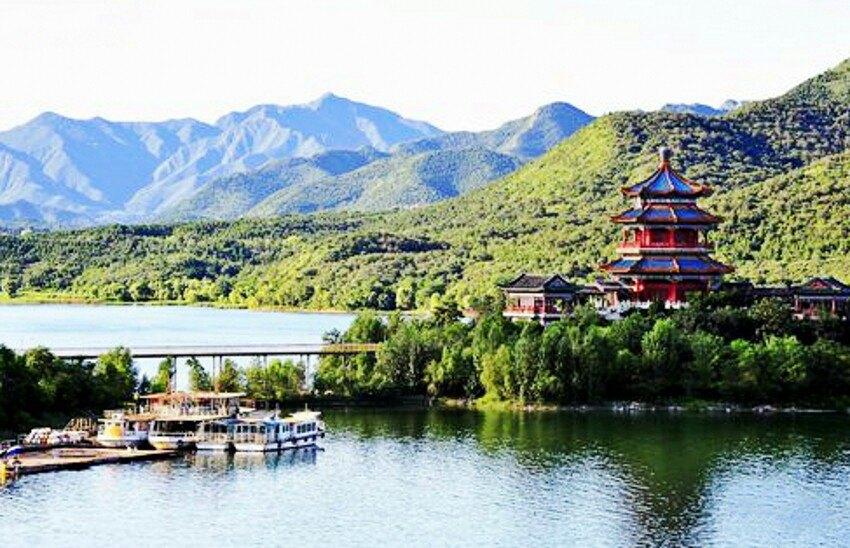 【携程攻略】北京十三陵水库景点,位于昌平区,水库秀