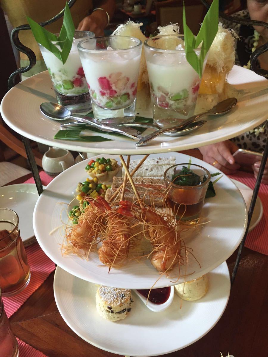 四季酒店的下午茶在清迈是比较出名