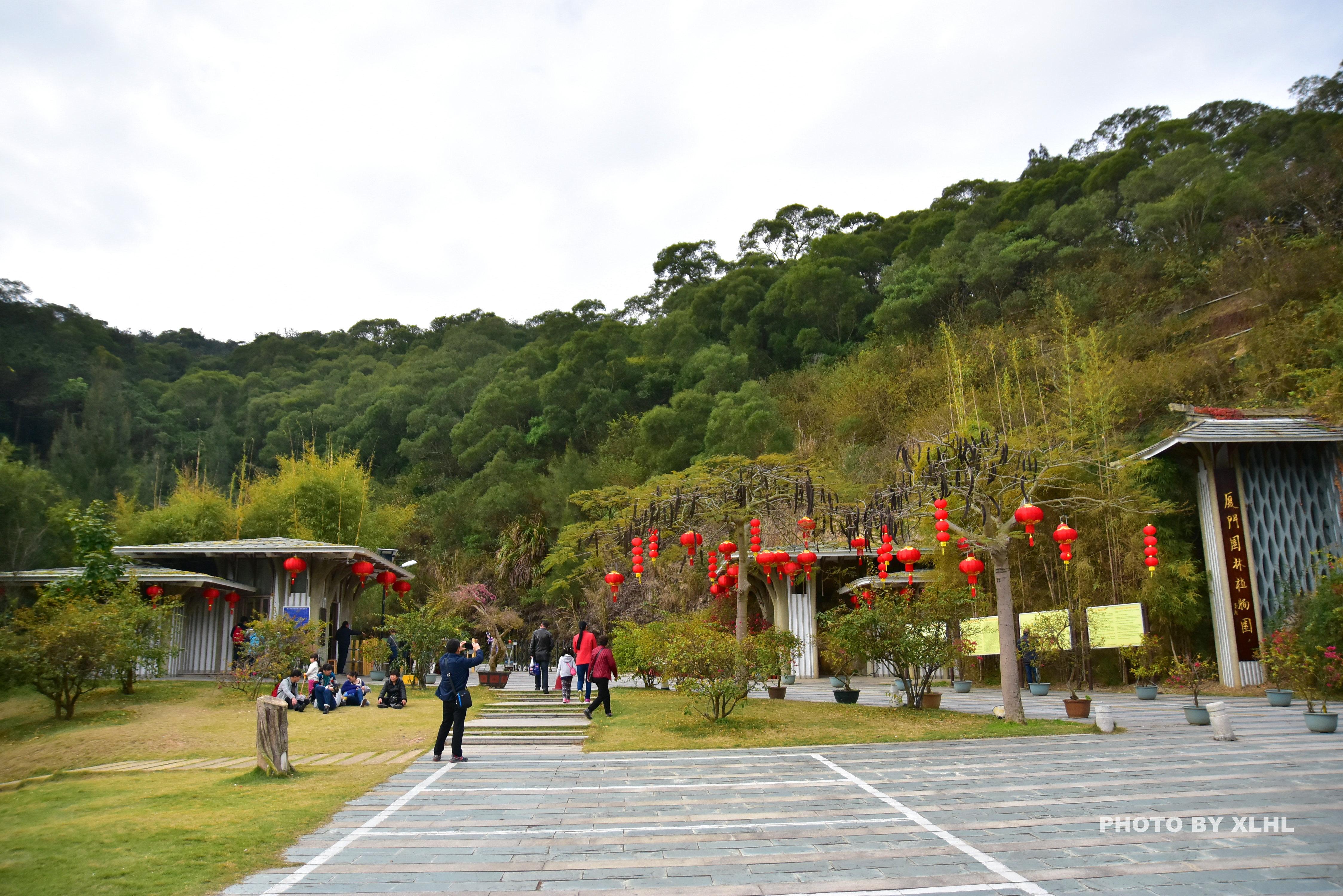 地图上看,面积比鼓浪屿还大,是上海辰山植物园的两倍多.