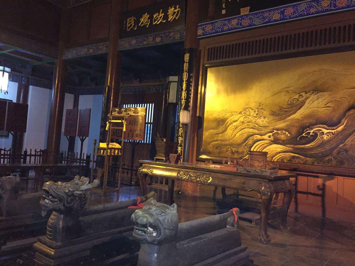 开封府真是气派啊~我老公说这在古代就是北京市公安局的级别,不算太图片