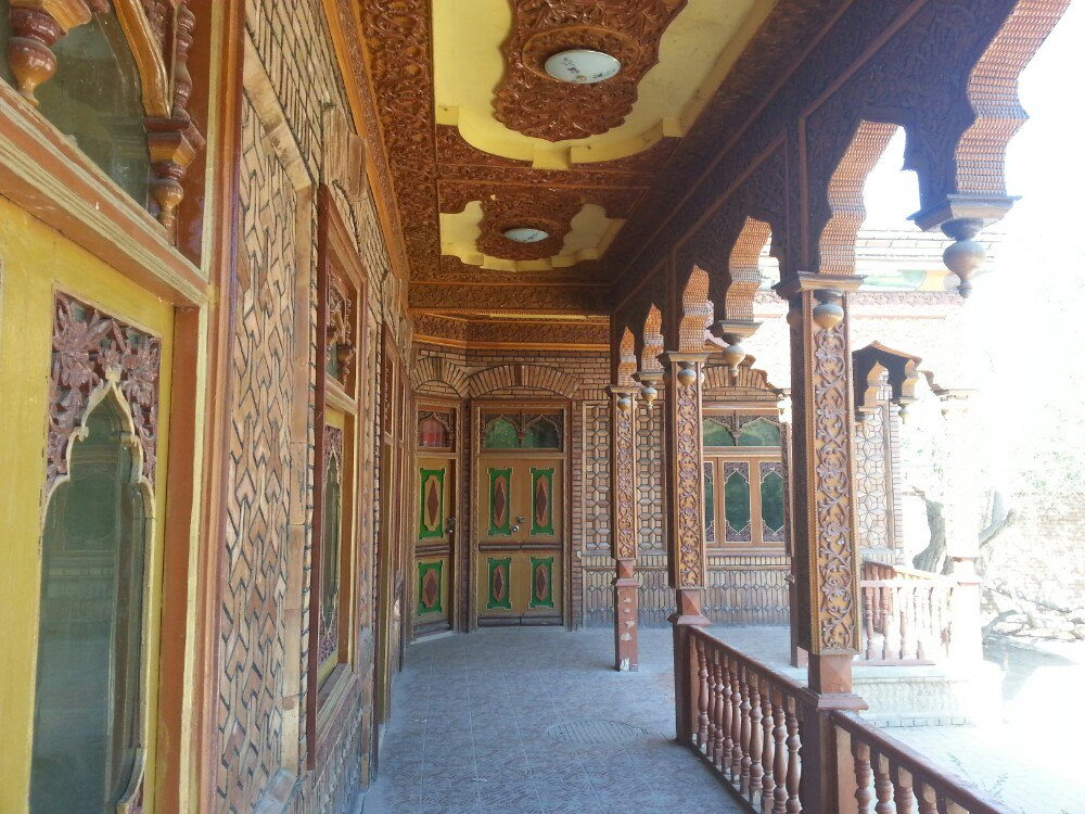维吾尔族房子