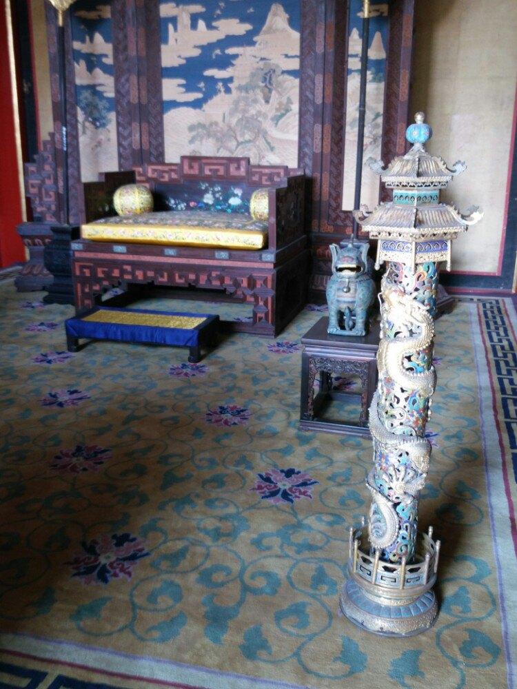 故宫花纹手绘图