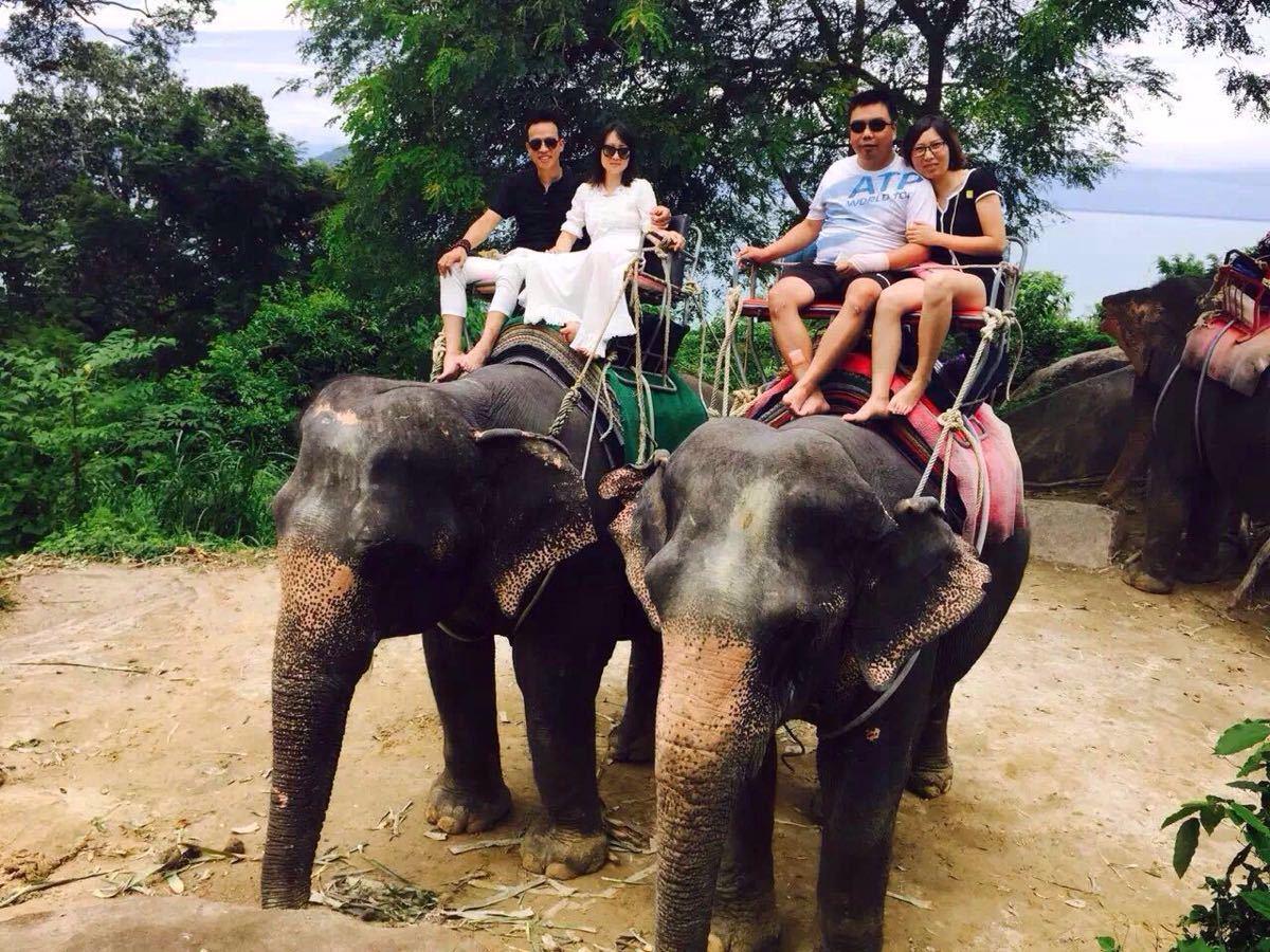 【携程攻略】普吉岛骑大象娱乐点,这个是必玩的项目