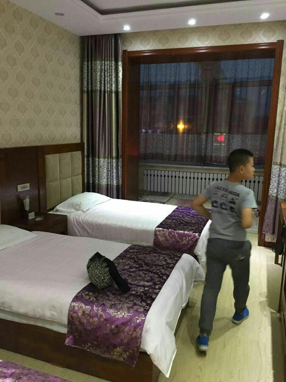 标准宾馆房间效果图